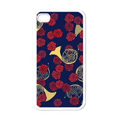 Roses French Horn  Iphone 4 Case (white)