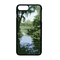 Away From The City Cutout Painted Iphone 7 Plus Seamless Case (black) by SeeChicago