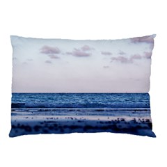 Pink Ocean Hues Pillow Case (two Sides) by TheLazyPineapple