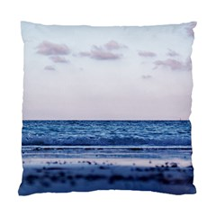 Pink Ocean Hues Standard Cushion Case (two Sides) by TheLazyPineapple