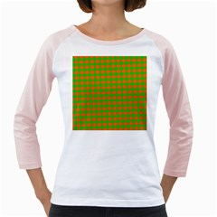 Generated Glitch20 Girly Raglan by ScottFreeArt