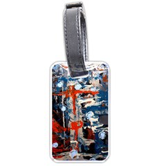 Slow Snow 1 1 Luggage Tag (one Side)
