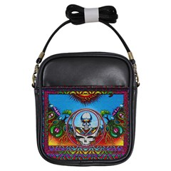 Grateful Dead Wallpapers Girls Sling Bag