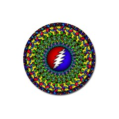 Grateful Dead Magnet 3  (round)