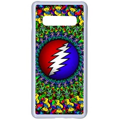 Grateful Dead Samsung Galaxy S10 Plus Seamless Case(white) by Sapixe