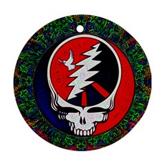 Grateful Dead Ornament (round) by Sapixe