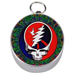 Grateful Dead Silver Compasses by Sapixe