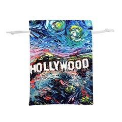 Hollywood Art Starry Night Van Gogh Lightweight Drawstring Pouch (m)