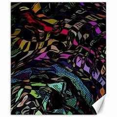 Background Drawing Colorful Pattern Canvas 20  X 24