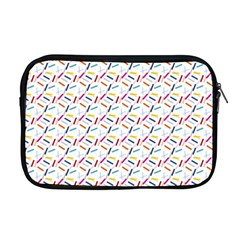 Sprinkles Flat Design Patter Food Apple Macbook Pro 17  Zipper Case