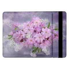 Nature Landscape Cherry Blossoms Samsung Galaxy Tab Pro 12 2  Flip Case by Vaneshart