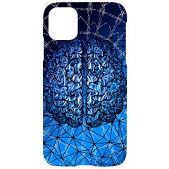Brain Web Network Spiral Think Iphone 11 Black Uv Print Case by Vaneshart