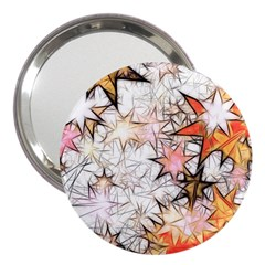 Christmas Star Advent Background 3  Handbag Mirrors