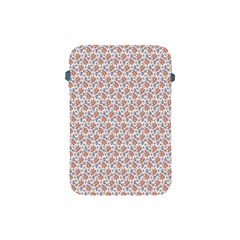 Floral Digital Paper Apple Ipad Mini Protective Soft Cases