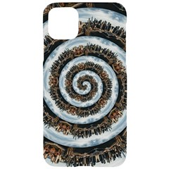 Spiral City Urbanization Cityscape Iphone 11 Pro Max Black Uv Print Case by Vaneshart