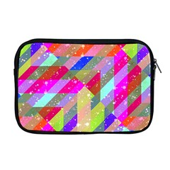 Multicolored Party Geo Design Print Apple Macbook Pro 17  Zipper Case