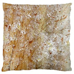 Bristles And Blooms Large Cushion Case (two Sided)
