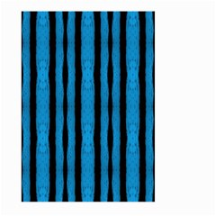 Tarija 016 Black Light Blue Large Garden Flag (two Sides)