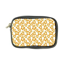 Cute Flowers   Honey Orange White Coin Purse