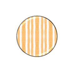 Tarija 016 White  Orange Hat Clip Ball Marker (10 Pack) by Tarijaorangered