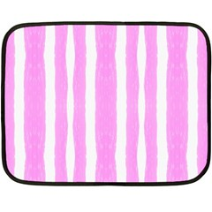 Tarija 016 White Pink Double Sided Fleece Blanket (mini)