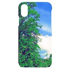 Drawing Of A Summer Day Iphone X/xs Black Uv Print Case