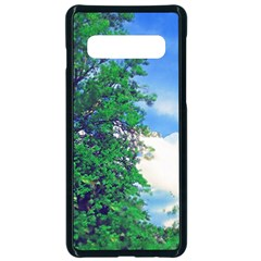 Drawing Of A Summer Day Samsung Galaxy S10 Seamless Case(black) by Fractalsandkaleidoscopes