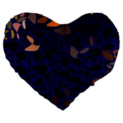 Zappwaits Large 19  Premium Heart Shape Cushions