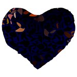 Zappwaits Large 19  Premium Heart Shape Cushions Back