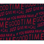 Motivational Phrase Motif Typographic Collage Pattern Deluxe Canvas 14  x 11  (Stretched) 14  x 11  x 1.5  Stretched Canvas
