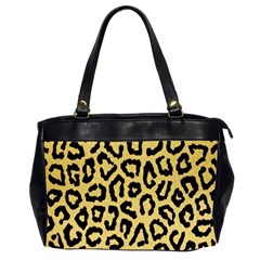 Ghepard Gold Oversize Office Handbag (2 Sides)