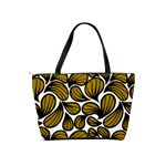 GOLD LEAVES Classic Shoulder Handbag Back
