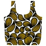 GOLD LEAVES Full Print Recycle Bag (XXL) Back