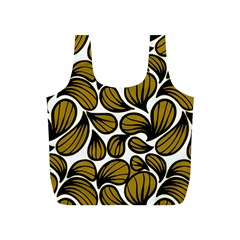 Gold Leaves Full Print Recycle Bag (s)