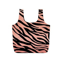 Tiger Rose Gold Full Print Recycle Bag (s)