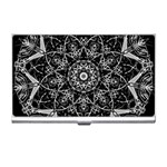 Black And White Pattern Business Card Holder Front