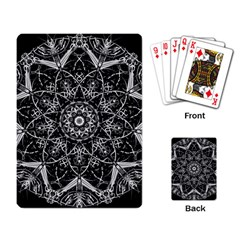 Black And White Pattern Playing Cards Single Design (rectangle)