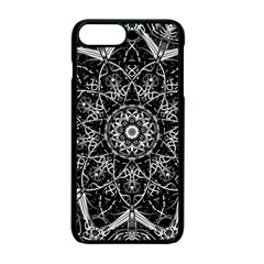 Black And White Pattern Iphone 7 Plus Seamless Case (black)