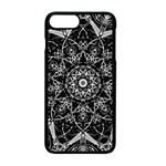 Black And White Pattern iPhone 7 Plus Seamless Case (Black) Front