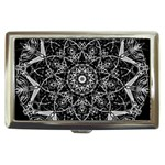 Black And White Pattern Cigarette Money Case Front