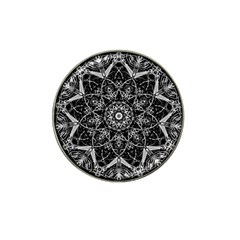 Black And White Pattern Hat Clip Ball Marker