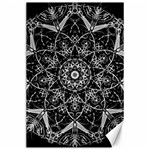Black And White Pattern Canvas 24  x 36  36 x24  Canvas - 1