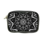 Black And White Pattern Coin Purse Front