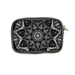 Black And White Pattern Coin Purse Back