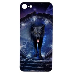 Awesome Wolf In The Gate Iphone 7/8 Soft Bumper Uv Case by FantasyWorld7