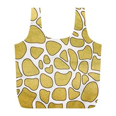 Maculato Gold Full Print Recycle Bag (l)