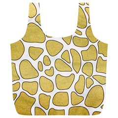 Maculato Gold Full Print Recycle Bag (xl)