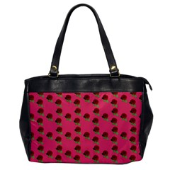 Rose In Mexican Pink Oversize Office Handbag