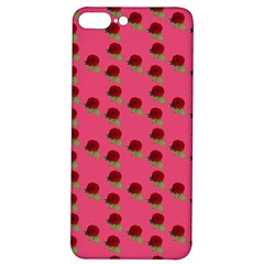 Rose In Mexican Pink Iphone 7/8 Plus Soft Bumper Uv Case by snowwhitegirl