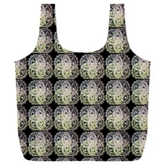 Doily Only Pattern Full Print Recycle Bag (xxl)